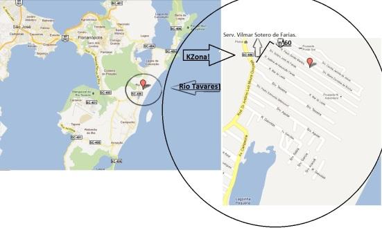 Mapa da KZona!