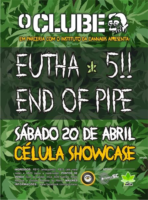 O CLUBE E INCA flyer frente