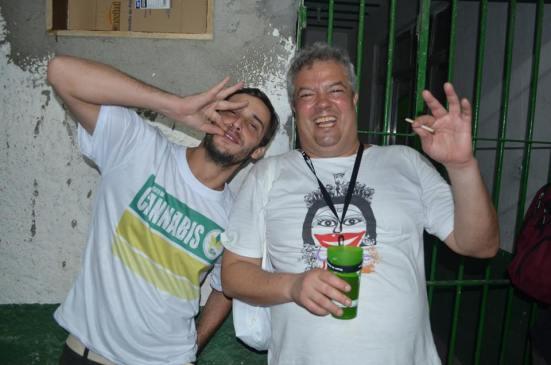 Lucas Lichy presidente do ICa (esquerda) e André Barros um dos Advogado da Marcha no RJ
